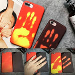 Fashion Temperature Sensitive Discolored Phone Case Cover For iPhone 6/6s 7 Plus iPhone 8 plus iPhone X