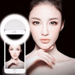New Selfie Ring Light Portable Flash Led Camera Phone Photography Enhancing