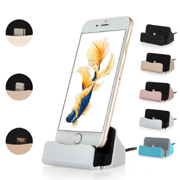 USB Charger Sync Stand Dock Station Cradles Cable for iPhone 6 6s 7 7Plus