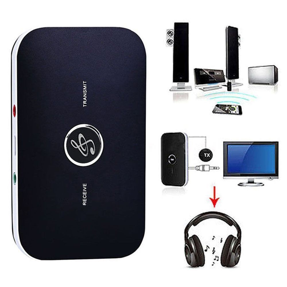 B6 Portable A2DP HIFI 2 in 1 wireless audio bluetooth Transmitter Receiver