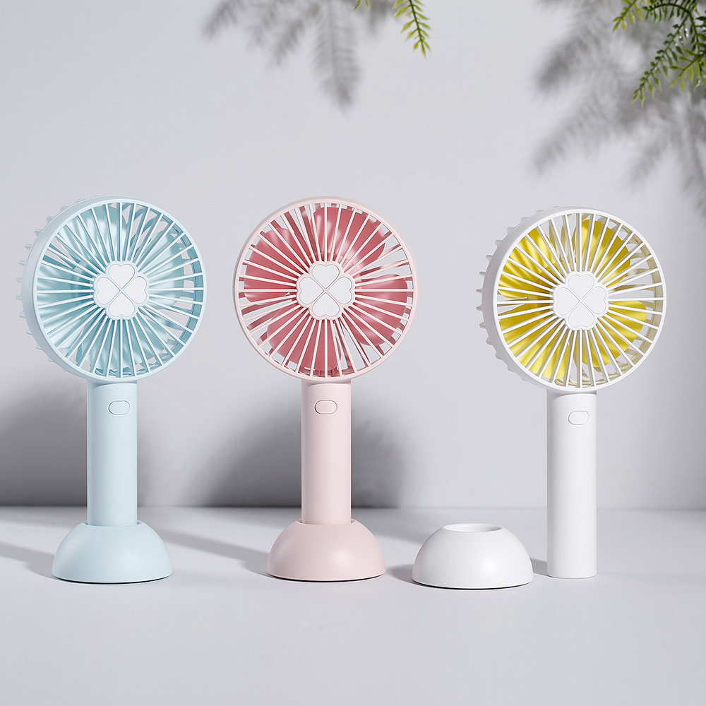 QWF08 Handheld Fan Large Capacity Creative Desktop Small Fan Usb Mini Carry