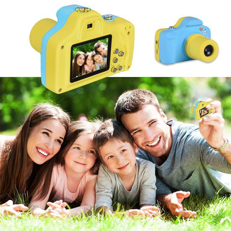 Kids funny mini plastic camera toy 5MP kids digital camera 720P kids digital camera