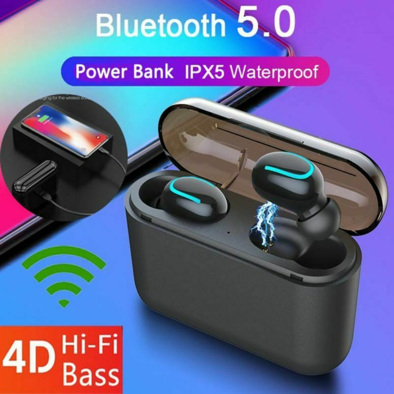 HBQ-Q32 Auto-pairing Wireless Bluetooth 5.0 Earbuds TWS Headset Stereo Headphone