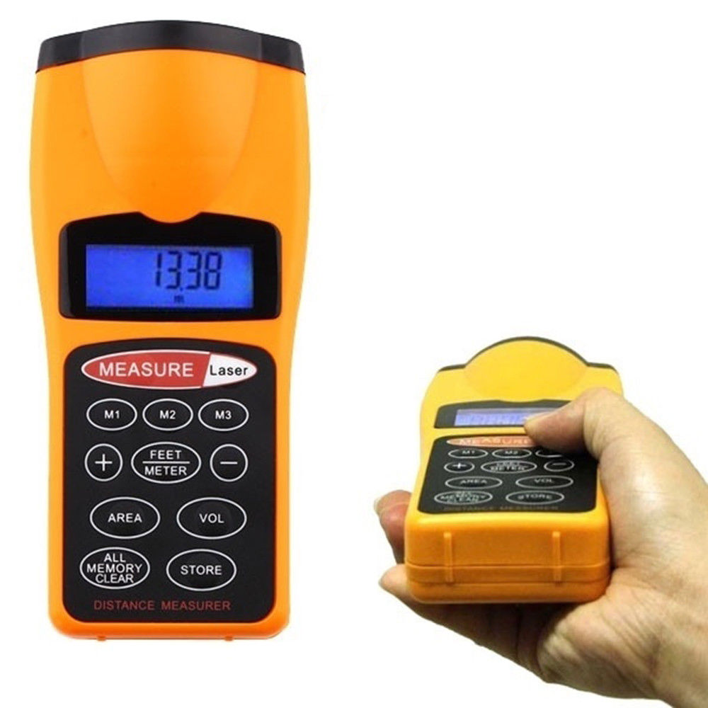 Digital  Meter Measurer Laser Rangefinder Hunting Measuring Rangefinders