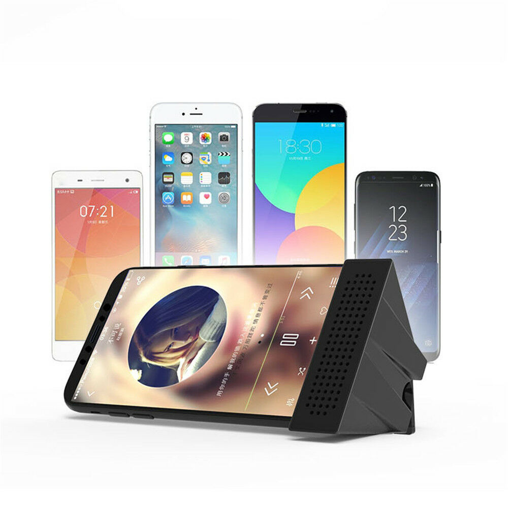 Universal Mobile Sound Amplifier Holder Cell Phone TV Holder For 6-10mm Devices