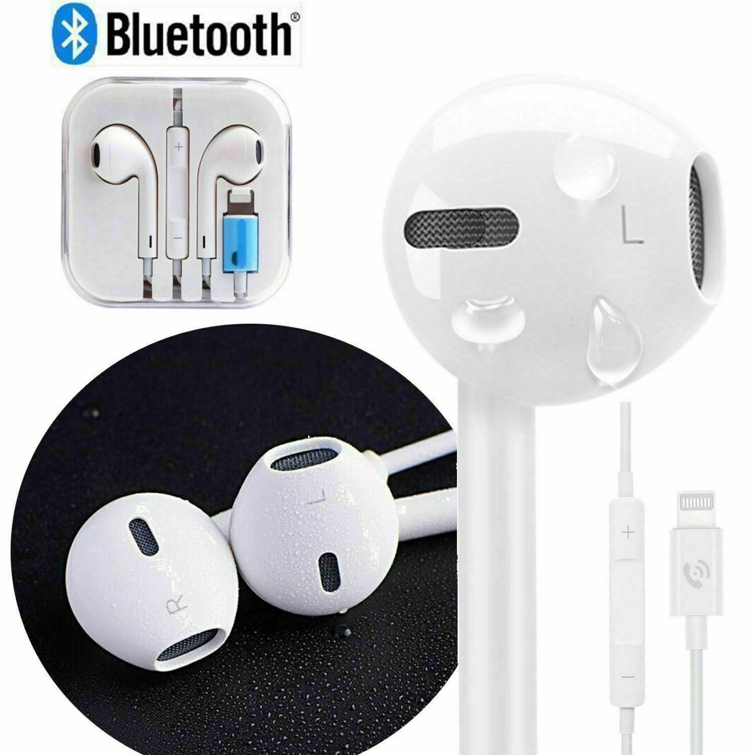 lightning headphone for iphone wired earphone earpod hand free earbuds Auriculares headset for iphone 5 6 7 11 12 for apple